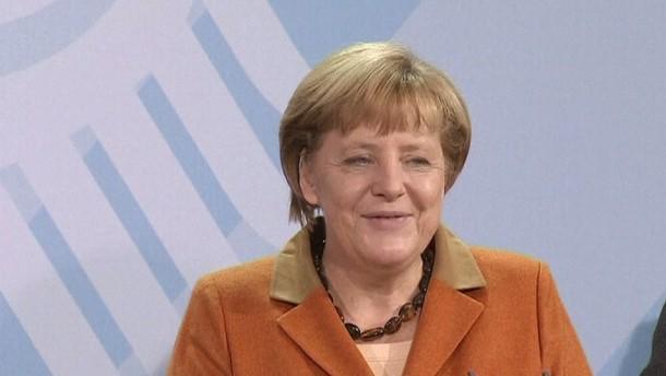 """Bundeskanzlerin: """"Wir kennen uns gut, ich freue mich auf die Zusammenarbeit."""""""