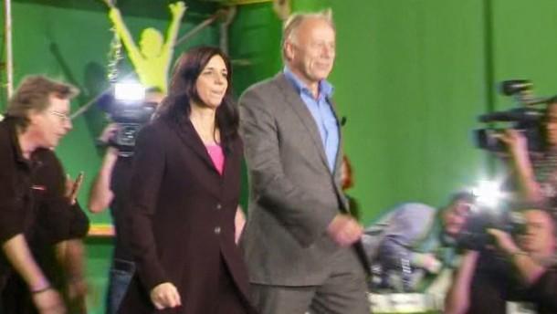 Trittin und Göring-Eckardt bekennen sich zu Rot-Grün