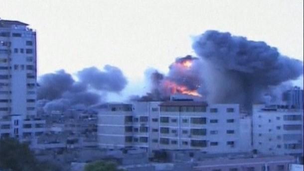 Auch aus dem von der Hamas regierten Küstenstreifen wurden wieder Raketen nach Israel abgefeuert.