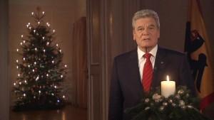 Gauck fordert engagierte Bürger