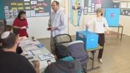 Der amtierende Ministerpräsident Netanjahu ist Favorit bei der Wahl. Allerdings wird er auf mehrere Koalitionspartner angewiesen sein.