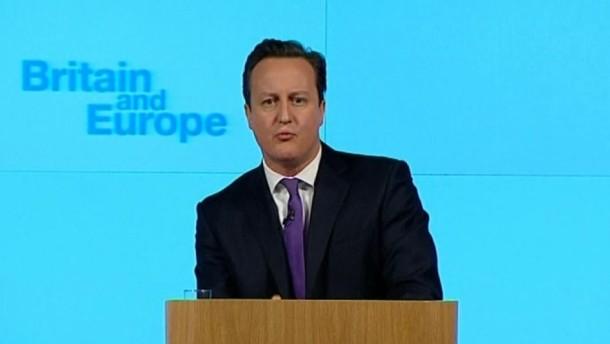 Der britische Premier kündigte in London ein Referendum über den Verbleib in der Europäischen Union an. Zugleich forderte er radikale Reformen.