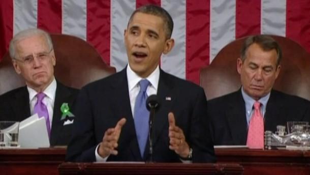 Das sagte der US-Präsident in seiner Rede zur Lage der Nation.