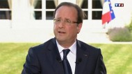 Der französische Staatspräsident Hollande schließt für seine Amtszeit Fracking in Frankreich aus.
