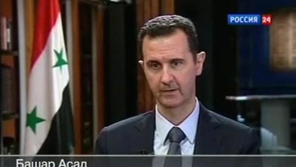 Syrien beantragt Beitritt zu Chemiewaffenkonvention