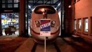 Bahn-Beschäftigte beginnen Warnstreiks