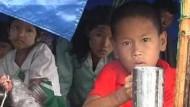 Burma akzeptiert angeblich ausländische Helfer