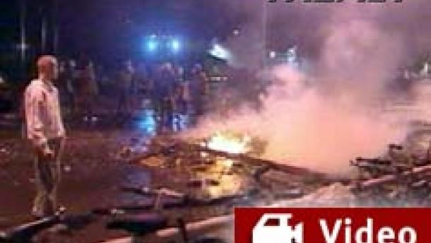 Erneut Straßenschlachten in Kreuzberg