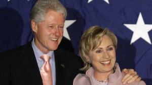 Ehepaar Clinton verdiente 109 Millionen Dollar in acht Jahren