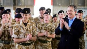 Schwere Pannen bei britischem Irak-Einsatz