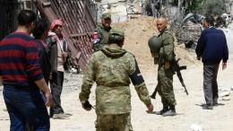 Russische Soldaten bei Kämpfen getötet