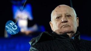 """Gorbatschow: """"Keine neue Mauer zulassen"""""""