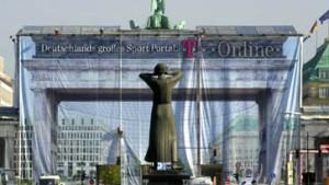 Die letzten Pfennige für das Brandenburger Tor