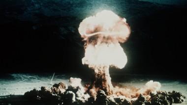 Sinnbild eines Weltkriegs: Eine Atombombenexplosion, aufgenommen 1952 im amerikanischen Bundesstaat Nevada