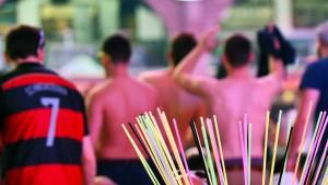 Urlauber prügeln sich mit Straßenhändlern auf Mallorca