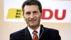 """Oettinger wiedergewählt: """"Respekt"""""""