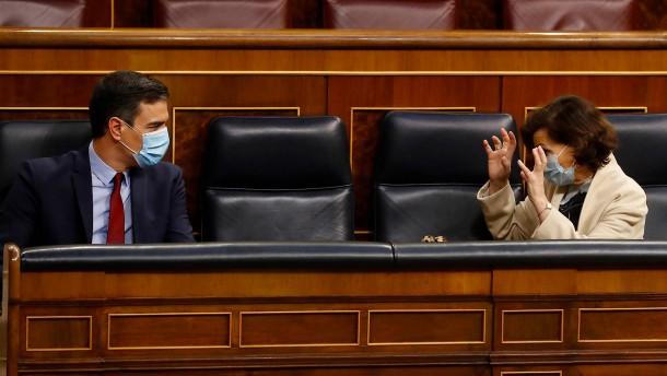 Spanien verlängert den Alarmzustand