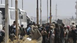 Rebellen verlassen Deraa