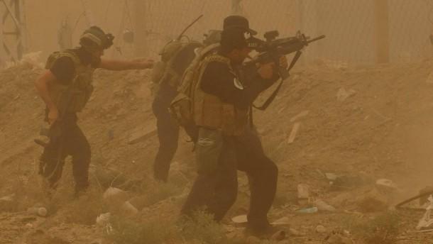 Irakische Armee beginnt Gegenoffensive um Ramadi