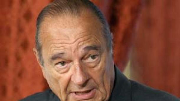 Chirac verwirrt mit Äußerungen zu Irans Atomprogramm