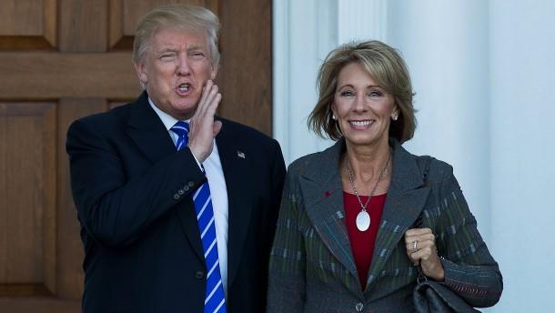 Milliardärin soll Amerikas Bildungsministerin werden