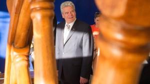 Gauck warnt vor Verzicht auf Militäreinsätze