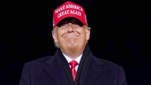 Donald Trump ist wieder da