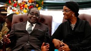 Mugabe bekommt angeblich Millionen-Apanage
