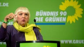 Gruenen-Pressekonferenz nach Parteigremien
