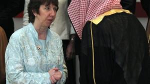EU und GCC wollen politische Lösung der Krise