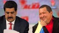 Nachfolger und Mentor: Maduro (links) mit Chávez im vergangenen Jahr