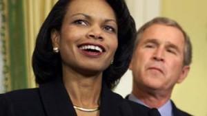 Bush ernennt Rice zur Außenministerin