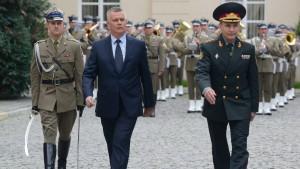 Polen verlegt mehr Soldaten in den Osten