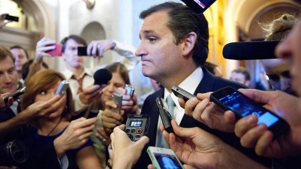 Filibustern gegen Obamacare