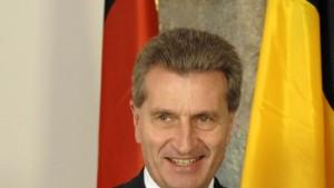 Oettinger soll deutscher EU-Kommissar werden