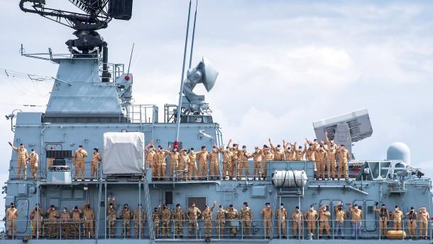 China lehnt Besuch von deutschem Kriegsschiff ab