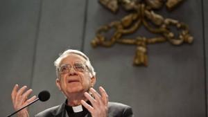 Papsterklärer in Erklärungsnot