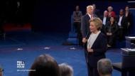 Positives am anderen Kandidaten? Da fiel beiden nur wenig ein