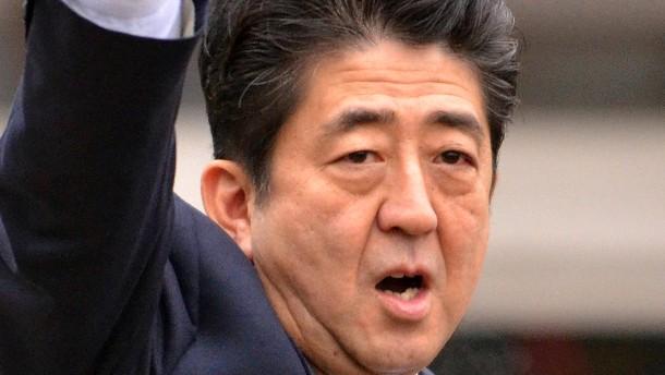 Japans Flucht nach rechts