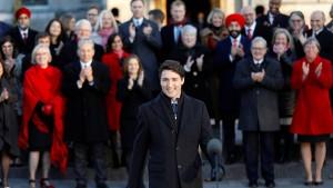 Kanadas Premierminister stellt neues Kabinett vor