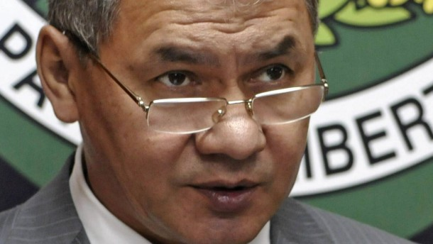 Minister Schoigu gibt dem russischen Feuerkampf ein Gesicht