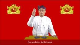 """Myanmars Gegenregierung ruft zum """"Krieg"""" auf"""