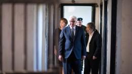 Steinmeier gedenkt der Opfer der deutschen Besatzung