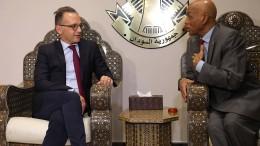 Merkel und Maas sagen Sudan Unterstützung zu