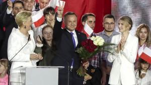 Gericht erklärt Polens Präsidentenwahl für gültig