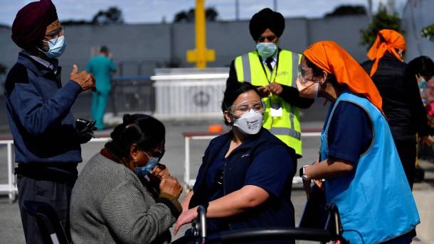 Erstmals mehr als 1000 Neuinfektionen im Großraum Sydney