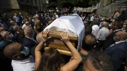 Dutzende Opfer in Beirut noch vermisst