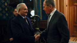 Waffenstillstand soll in Moskau besiegelt werden