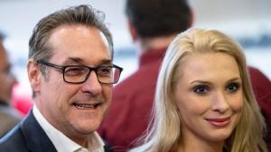 Philippa Strache darf in Österreichs Parlament einziehen