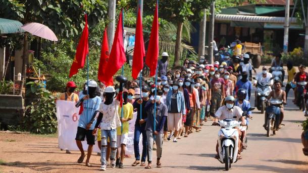 Berichte über 80 Tote bei Protesten in Myanmar